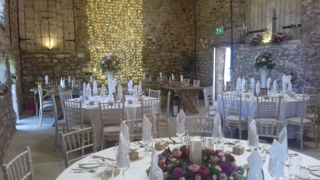wedding crockery hire Cumbria
