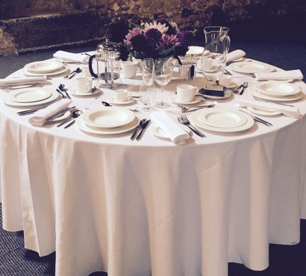 wedding crockery hire Kendal