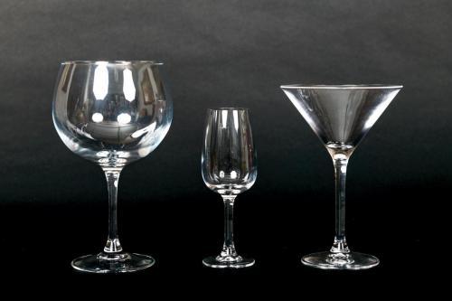 Gin, Dessert Wine & Cocktail Glasses