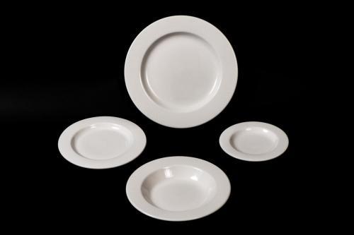 White Dinner Service