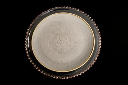 Charger Plate with Stoneware