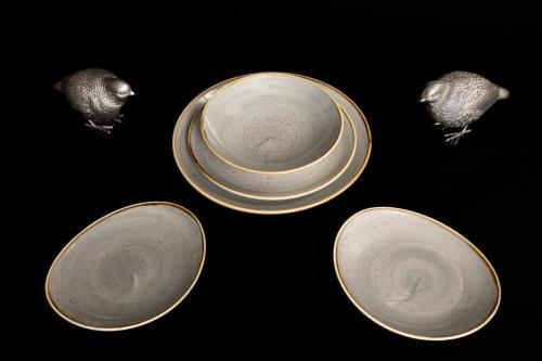 Stoneware Plates & Bowles